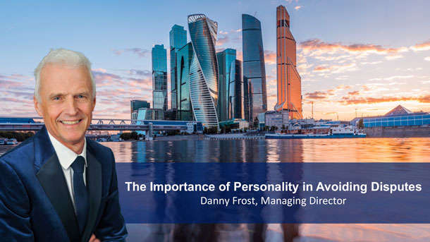 The Importance of Personality in Avoiding Disputes