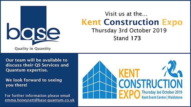 Visit us at the Kent Construction Expo – 3rd October