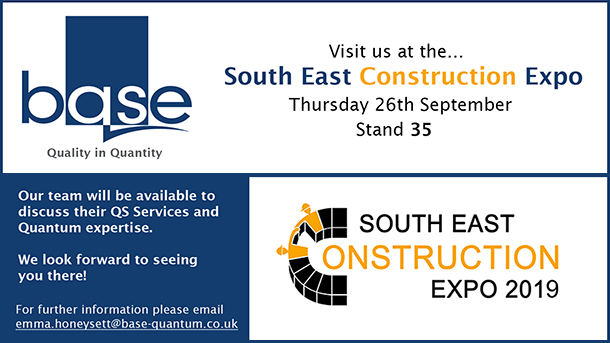 Visit us at the South East Construction Expo – 26th September