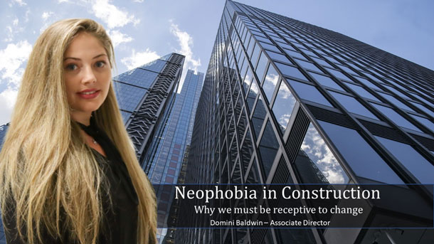 Neophobia in Construction