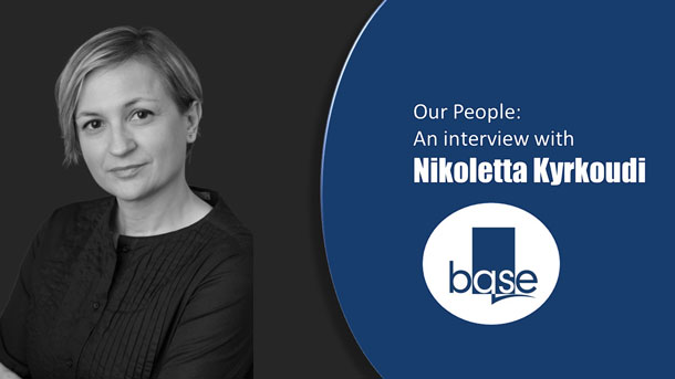 Our People: An interview with Nikoletta Kyrkoudi