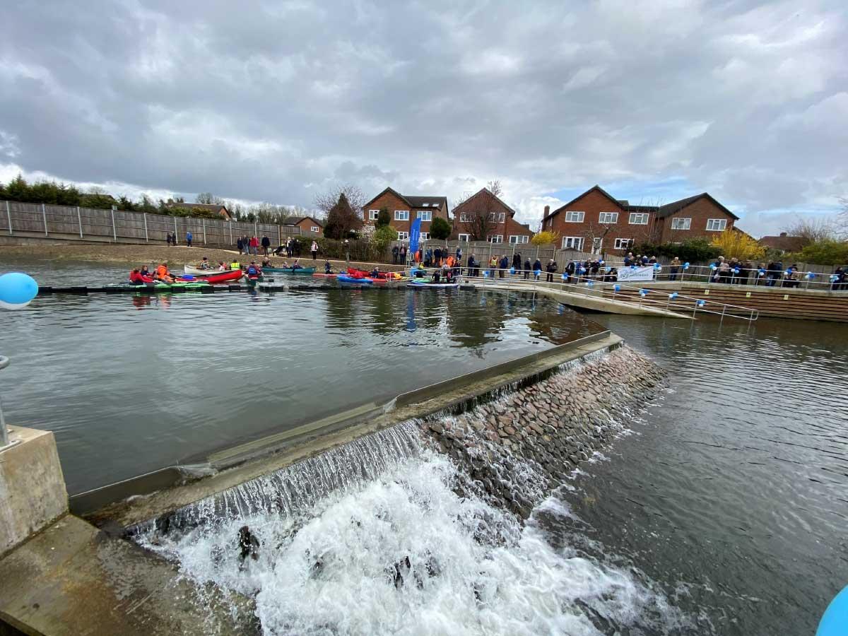 Maidenhead Waterways Weir Complex