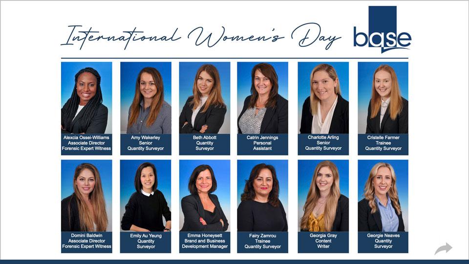 International Women's Day at Base