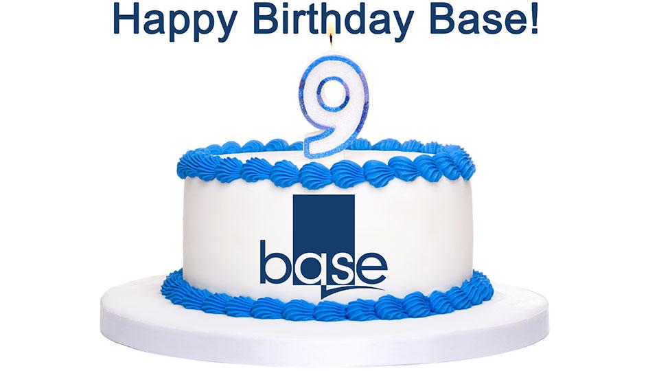 Base turns 9!