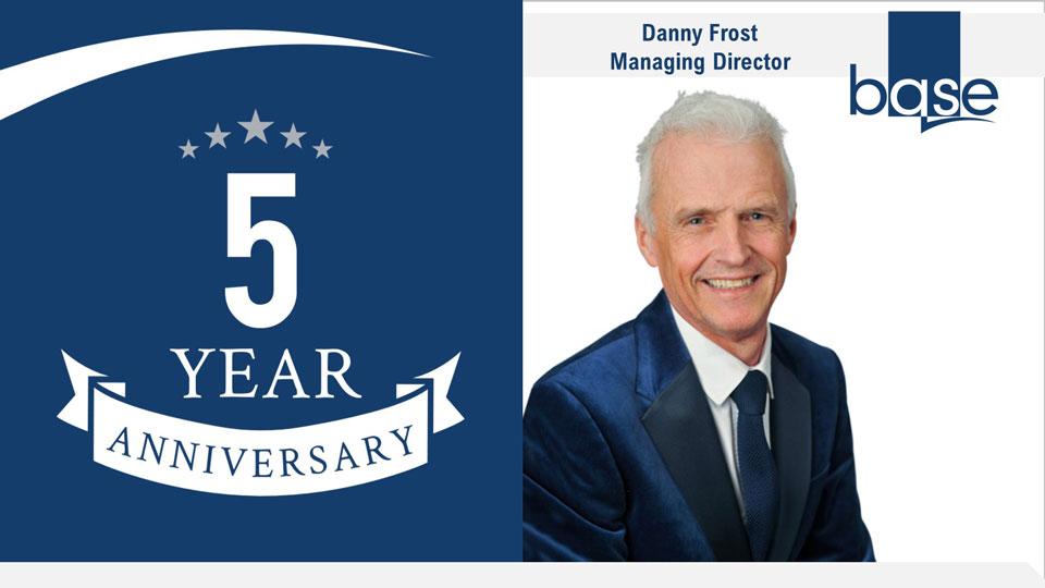 Danny 5 year anniversary