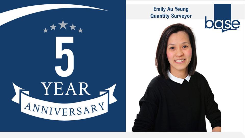 Emily Au Yeung's 5 year anniversary