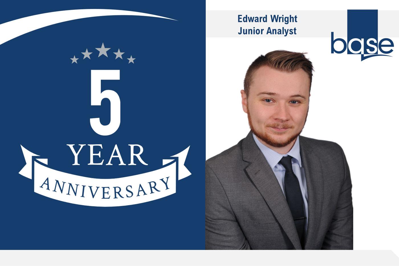 Ed Wright's 5 year anniversary