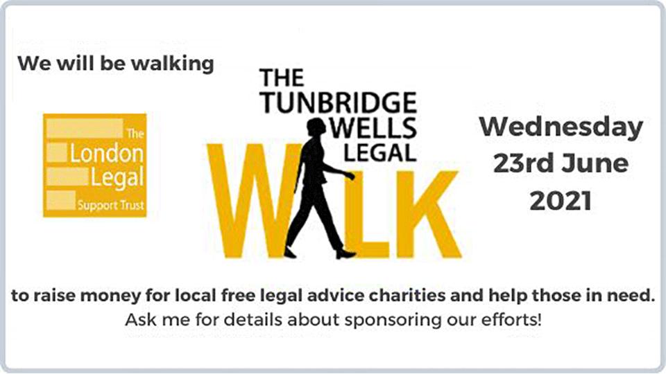 Tunbridge Wells Legal Walk 2021
