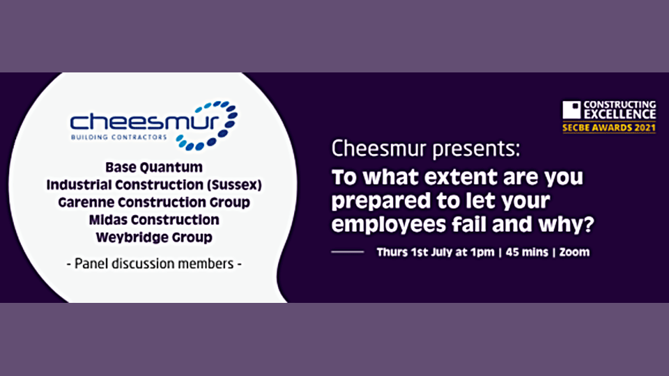 To what extent are you prepared to let your employees fail and why?