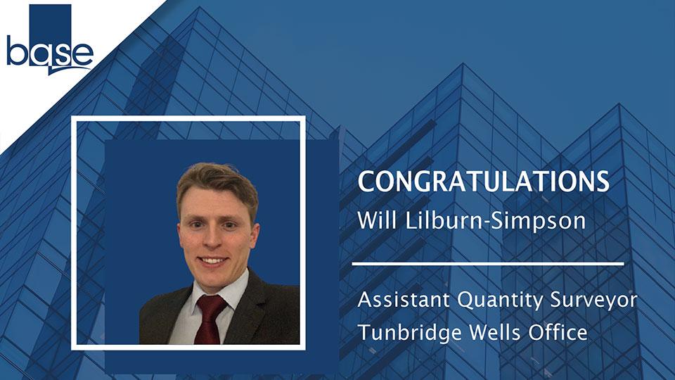 Congratulations Will Lilburn-Simpson