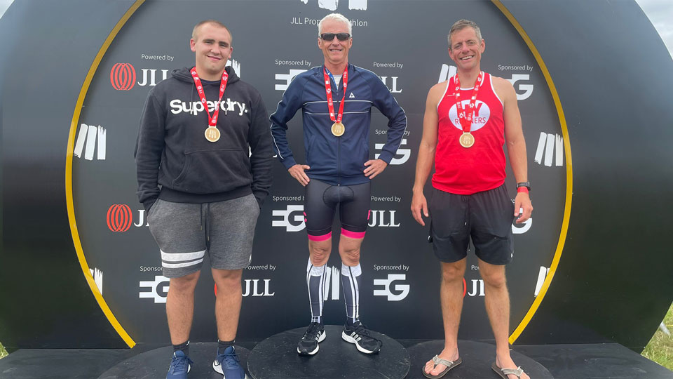 JLL Property Triathlon 2021: Team Base takes 6th place